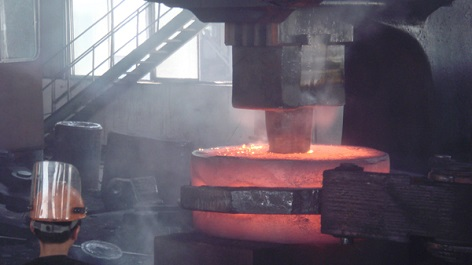 valve forging workshop