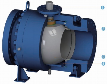 Design features of metal seated floating ball valves.