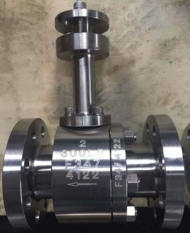 double-seats-unidirection-cryogenic-ball-valve-floating-type