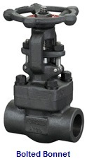 API 600 gate valve with bolted bonnet