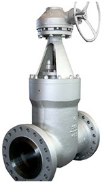 cast steel pressure seal gate valve
