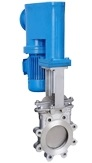 Electric & Hydraulic Hybrid Knife Gate Valve