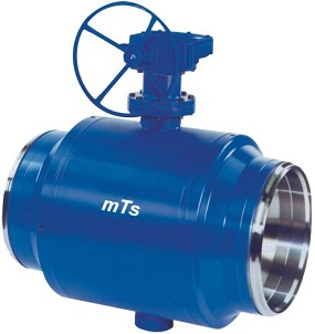 Fully Welded Trunnion Ball Valve