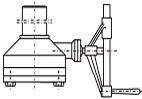 gear operator for pressure seal gate valve