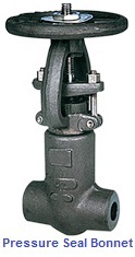 Pressure Sealed Gate Valve, API 600, forged steel
