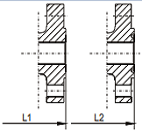 RTJ RF end pressure seal gate valve