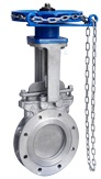 Sprocket(Chain Wheel) Operated Knife Gate Valve