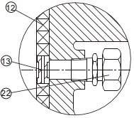 Detail view A-A