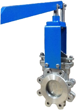 MTB LHY series lever op. knife gate valve
