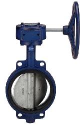 Wafer type centerline butterfly valve