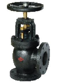 125LB angle globe valve.