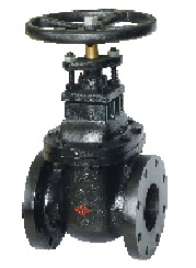 125LB non rising stem gate valve.