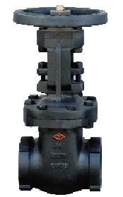 125LB screw end OS&Y gate valve.