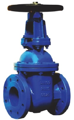 BS5163 OS&Y gate valve.