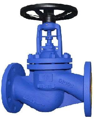 DIN gate valve.