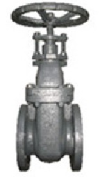 DIN Metal Seal Non Rising Stem Gate Valve