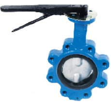 Split-shaft Pinless Wafer and Lug Type Butterfly Valve